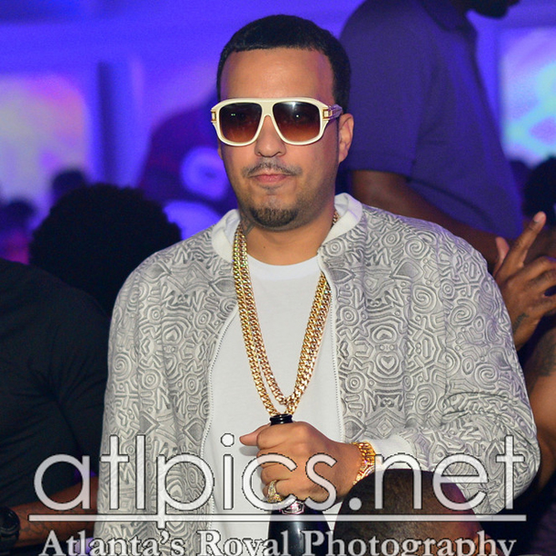 French Montana Iced Out Yellow Amp Rose Gold Miami Cuban